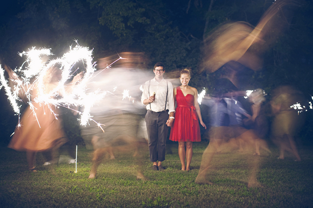 fun carnival-themed DIY wedding reception