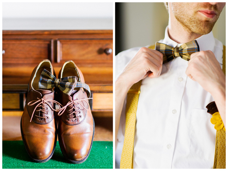 groomie style | handmade North Carolina wedding | Nathan Abplanalp Photography