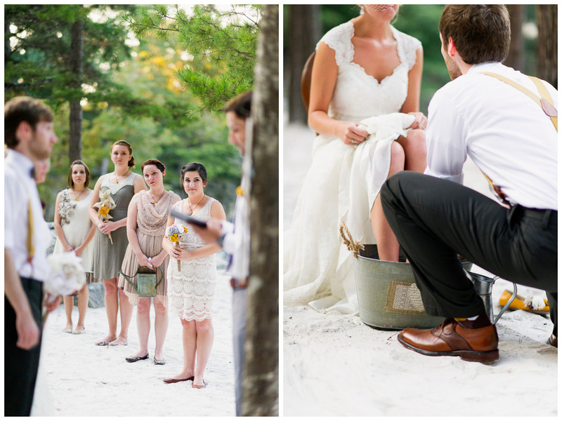 a personal ceremony | handmade North Carolina wedding | Nathan Abplanalp Photography
