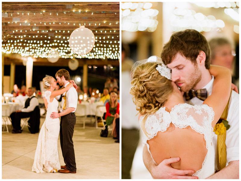 first dance | handmade North Carolina wedding | Nathan Abplanalp Photography