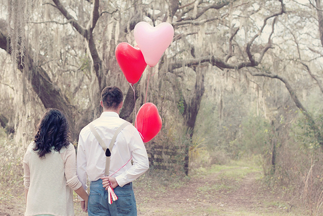 Valentine's Day inspired Engagement   Sky Stone Photography & Twinkle Twinkle Little Party