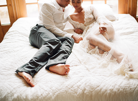 Wedding night sex photographer