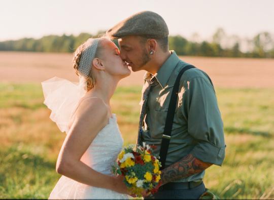 backyard Ohio wedding | gina leigh photo