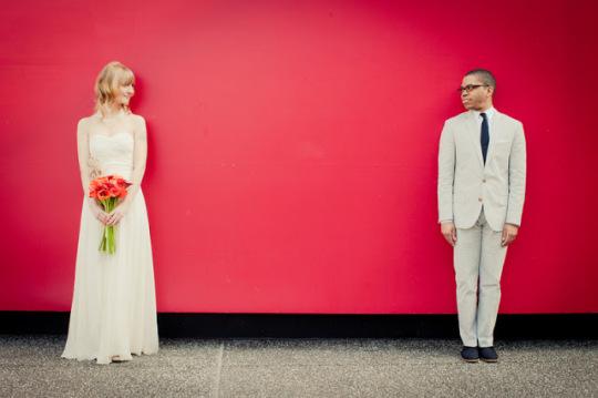 modern wedding couple | paige winn photography