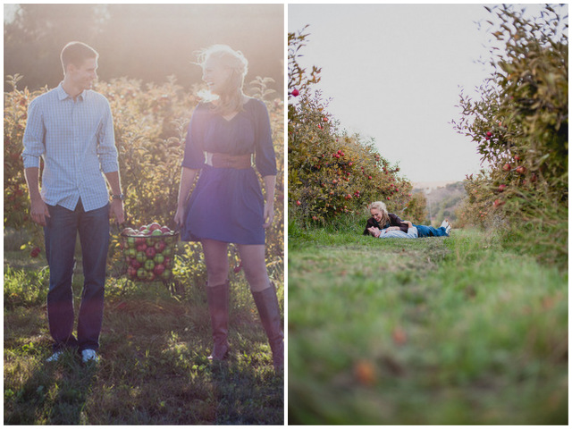 orchard engagement | sweet poppy studios