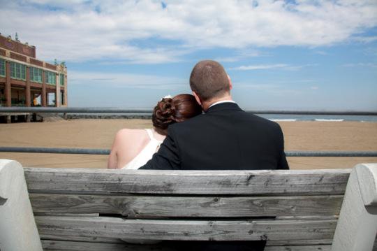 NJ Boardwalk wedding