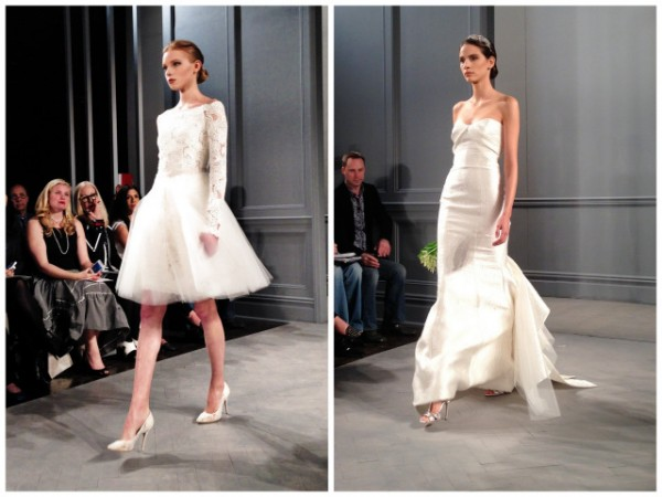 wedding dresses by monique lhullier spring 2014 collection