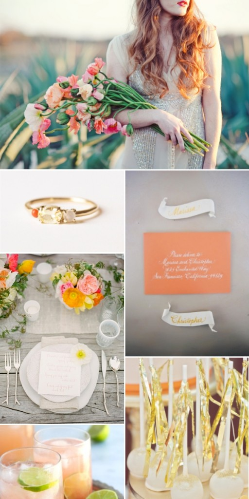 coral-orange-gold-wedding-inspiration