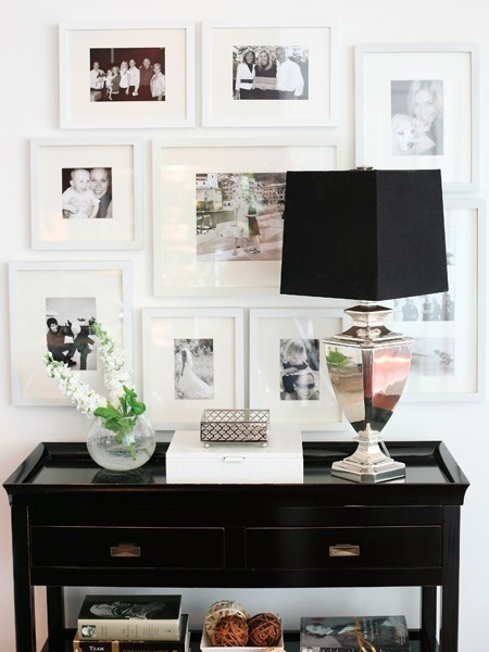 Gallery Wall styling | Oh Lovely Day