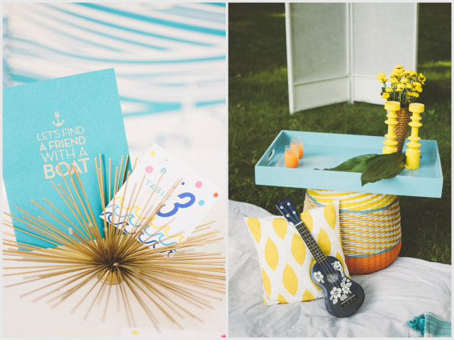 Retro Nautical Bachelorette Party | Suzuran Photography on Oh Lovely Day