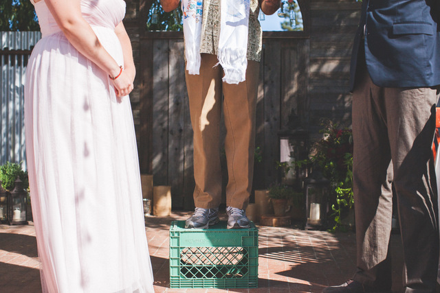 Moonrise Kingdom Inspired Relaxed Wedding in Central Coast, California   Orange Owl Photography on Oh Lovely Day
