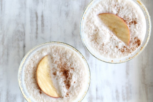 Sparkling Apple Pie Sgroppino Recipe | From One Hope Weddings on Oh Lovely Day