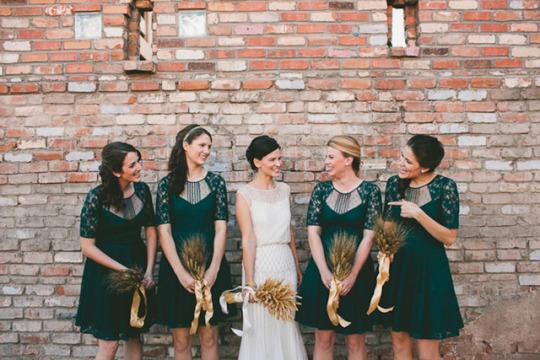 Top Weddings of 2013 on Oh Lovely Day | Modern Harvest Wedding by Mike Olbinski