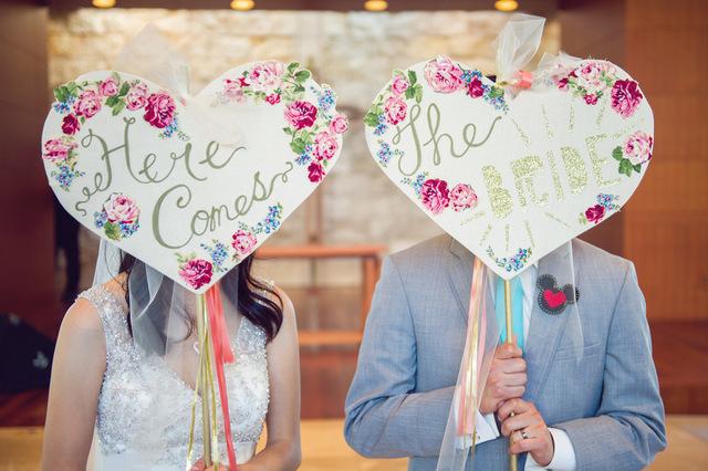 Disney-inspired wedding   Sun & Sparrow Photography   Oh Lovely Day