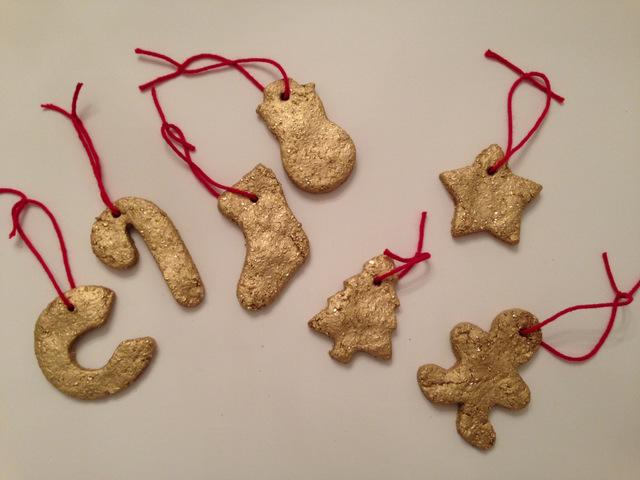 salt dough ornaments | Oh Lovely Day