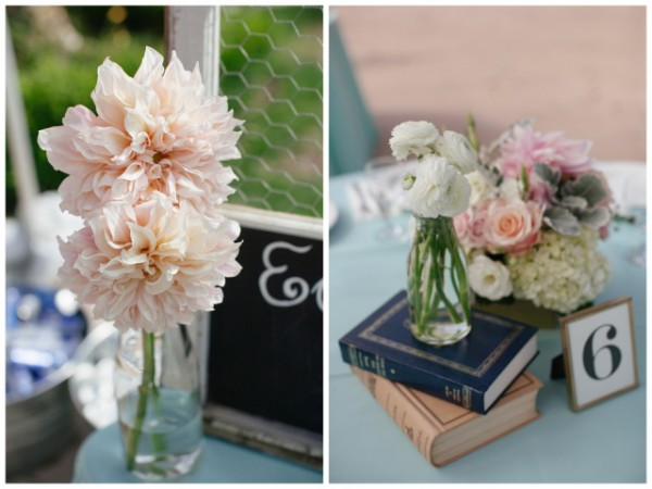 Vintage Mint Wedding | Frenzel Studios on Oh Lovely Day