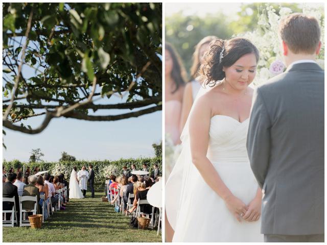 New York Vineyard Wedding | Elizabeth Millay Photography