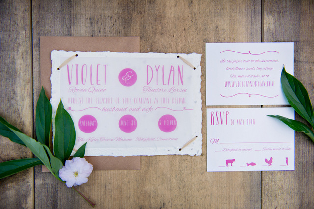 Sustainable & Eco-Friendly Spring Inspiration   Amy Chamgagne Events & Ashley Therese Photography / Paper goods by Roseville Designs