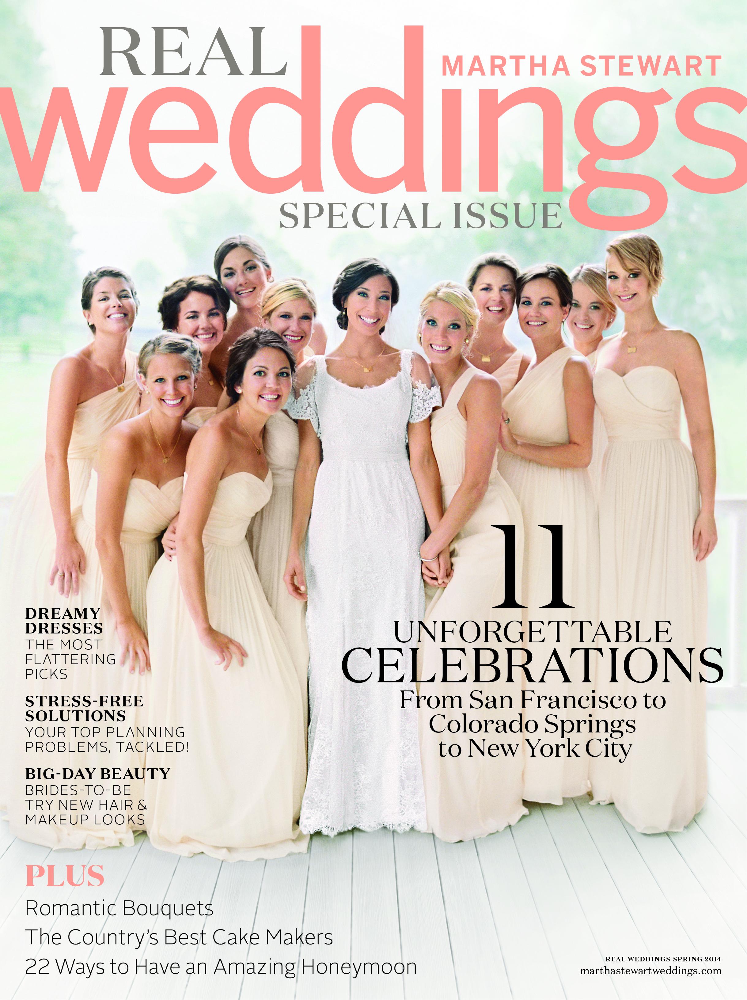 Martha Stewart Weddings Spring Real Weddings Special Issue Sneak Peek | Oh Lovely Day