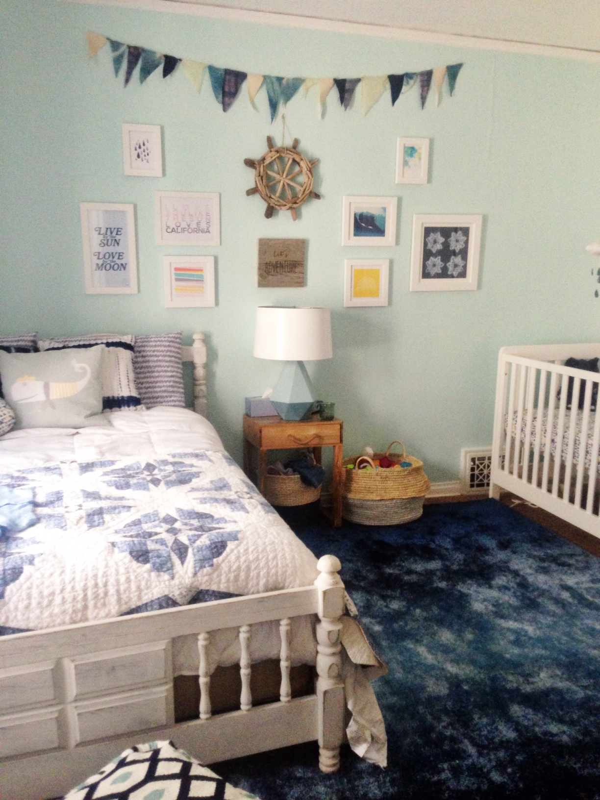 Nursery Peek and a Lulu & Georgia Giveaway | Oh Lovely Day