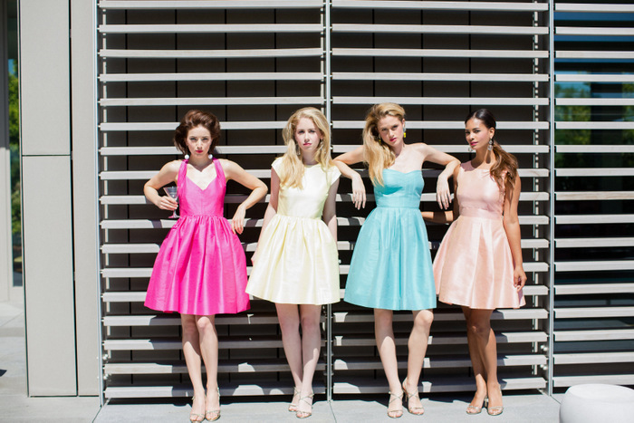 bridesmaid dress trends for 2015 | Oh Lovely Day
