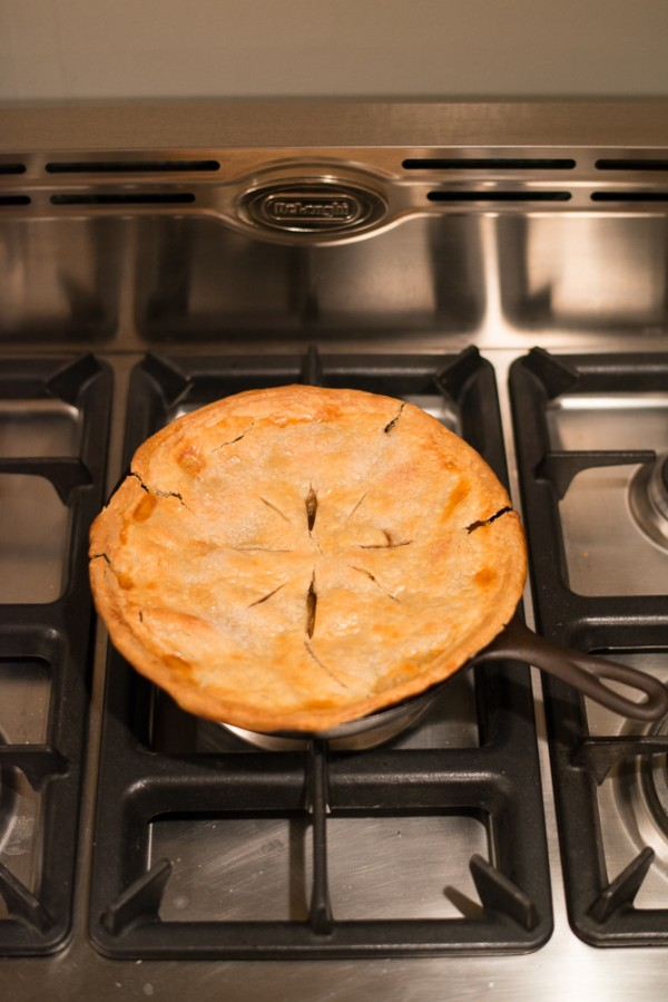 skillet apple pie | Young Love Story on Oh Lovely Day