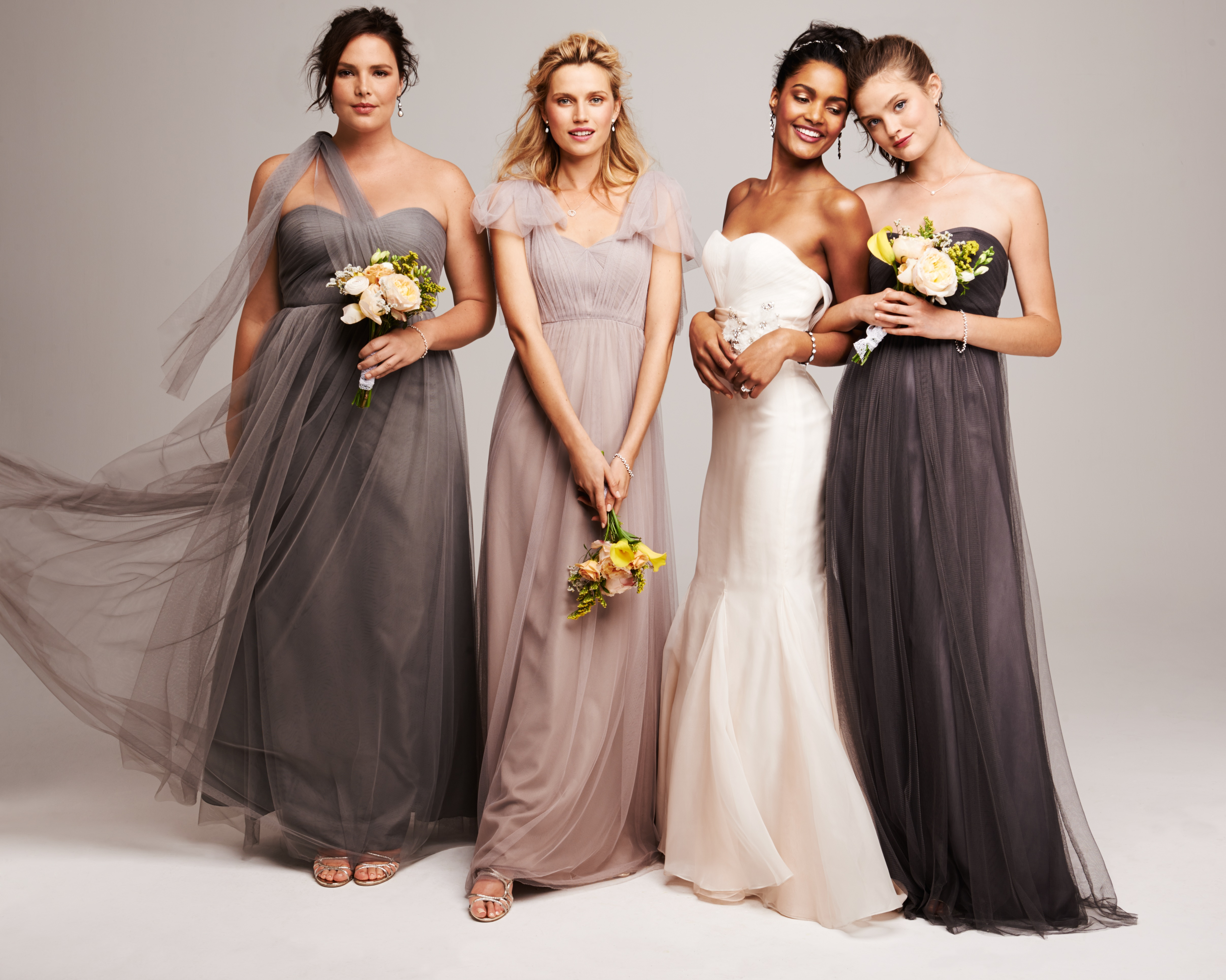 Styling Your Bridesmaids