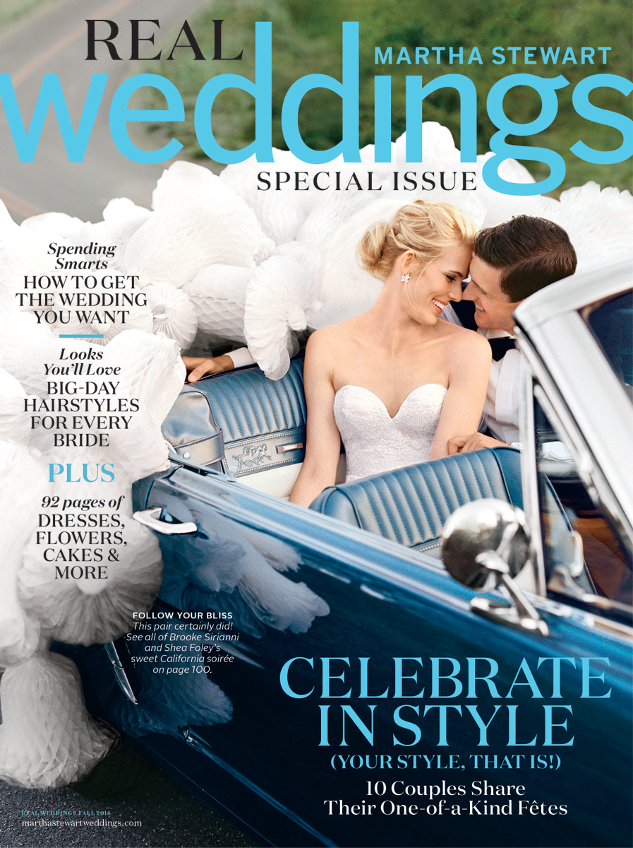Martha Stewart Weddings Real Wedding Preview | Oh Lovely Day | photography by Rachel Thurston