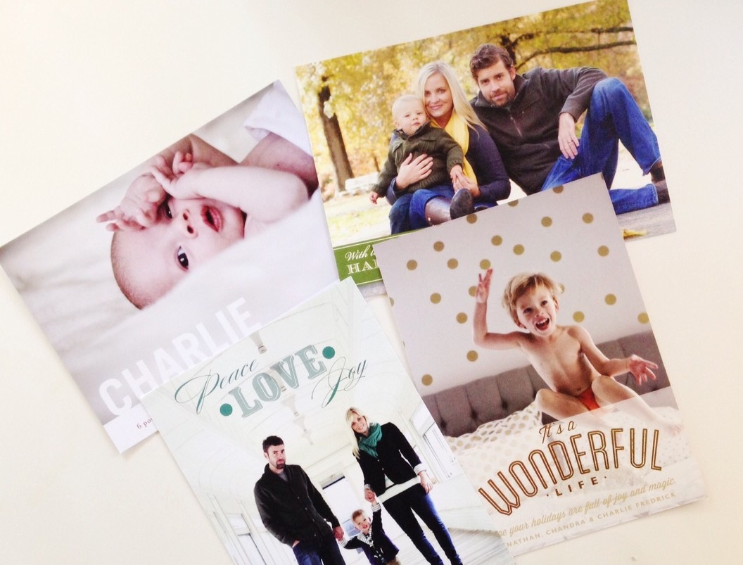 Minted Holiday Cards giveaway on Oh Lovely Day   New Year's Cards