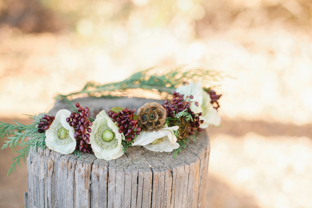 DIY Winter Floral Crown | MV Florals & Megan Welker | Oh Lovely Day