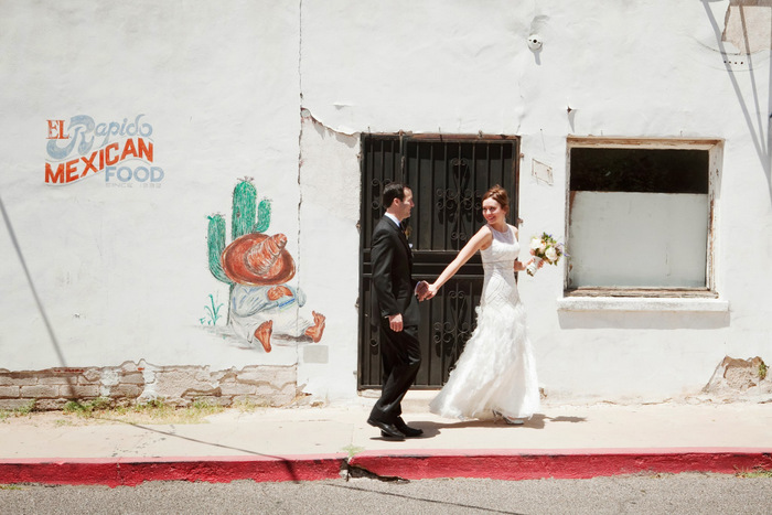 Art Deco DIY Tucson Wedding