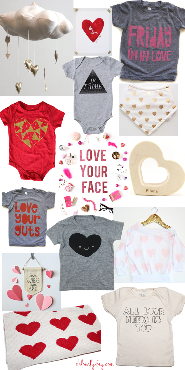 Love for Littles Valentine's Day Round Up | Oh Lovely Day