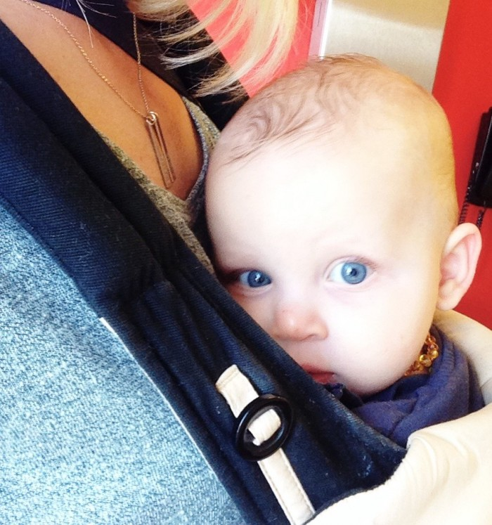 Five Faves: Tools For Helping a Sick Baby: Babywearing with our Ergobaby 360