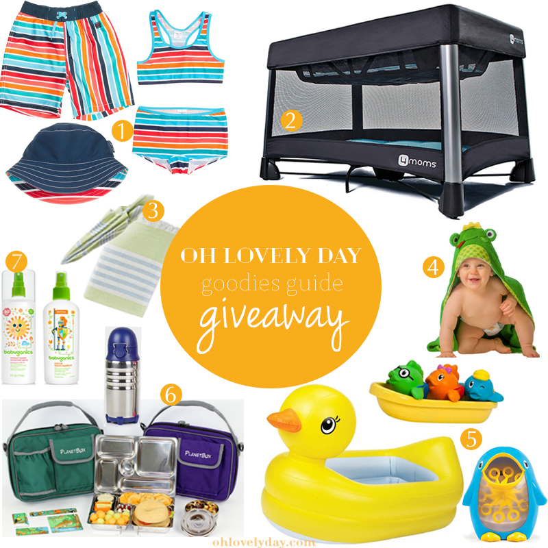 Goodies Guide Summer Fun Giveaway | Oh Lovely Day