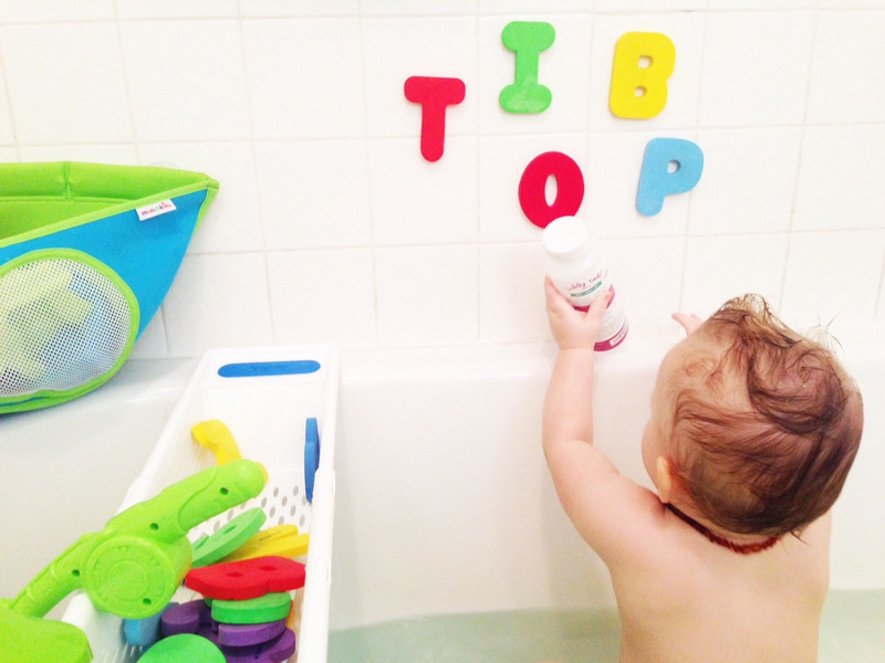 bath time fun with Munchkin | Oh Lovely Day