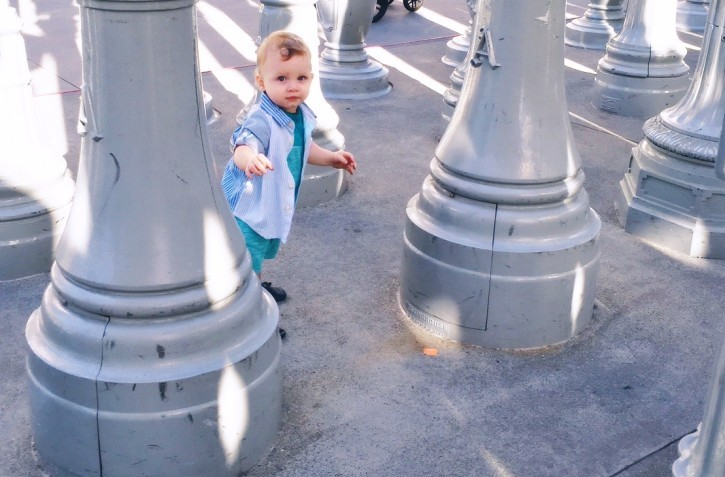 Oh Lovely Day's Favorite Places in LA: LACMA's Urban Lights
