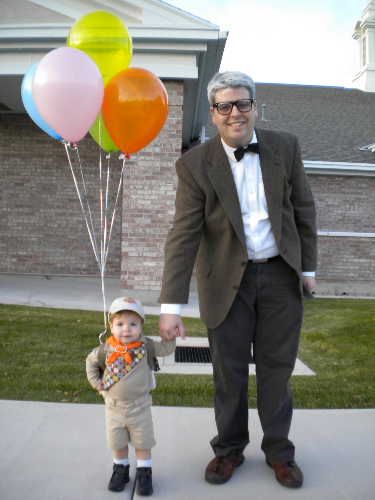 Favorite Halloween Costume Ideas for Pairs: The Boy and Old Man from Up | Oh Lovely Day