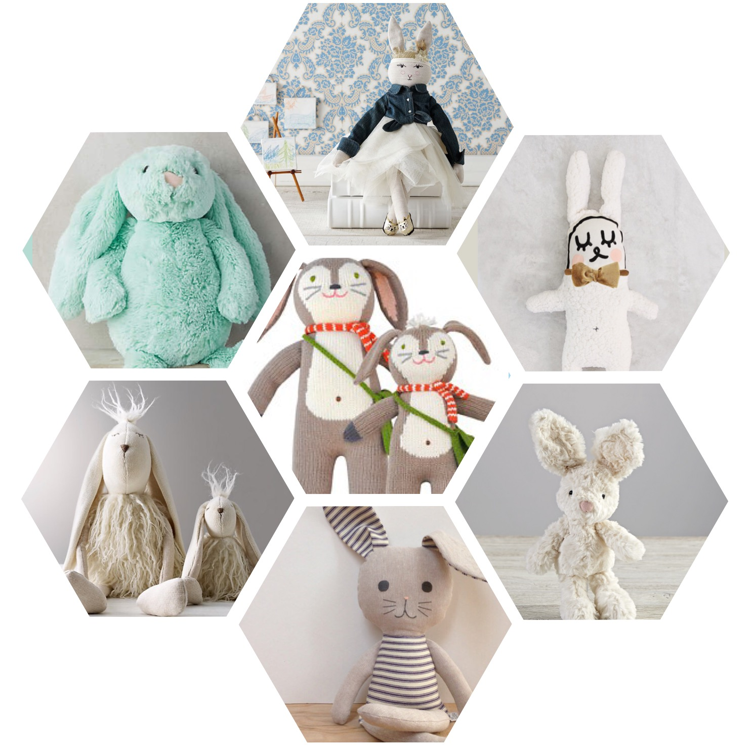 Bunny Round Up for Easter Gifting | Oh Lovely Day