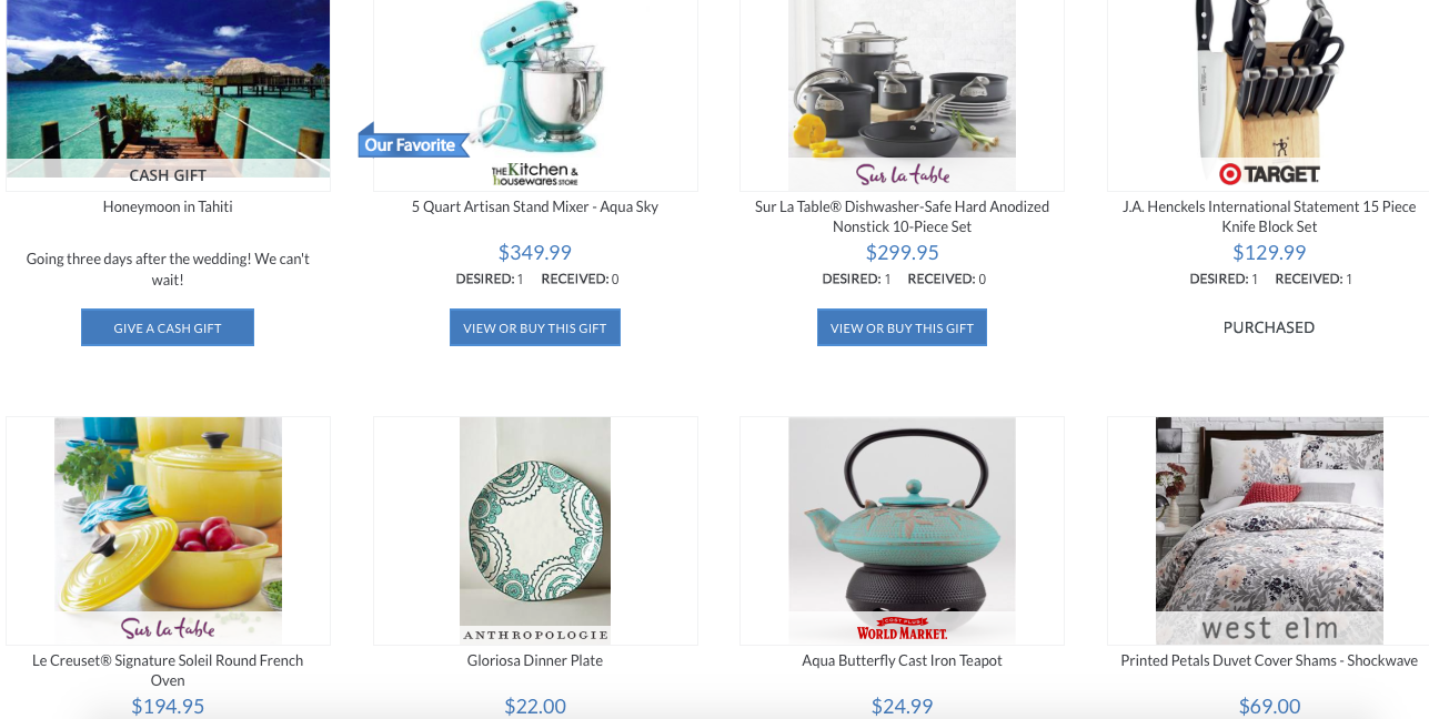 register from anything from anywhere with MyRegistry.com | Oh Lovely Day
