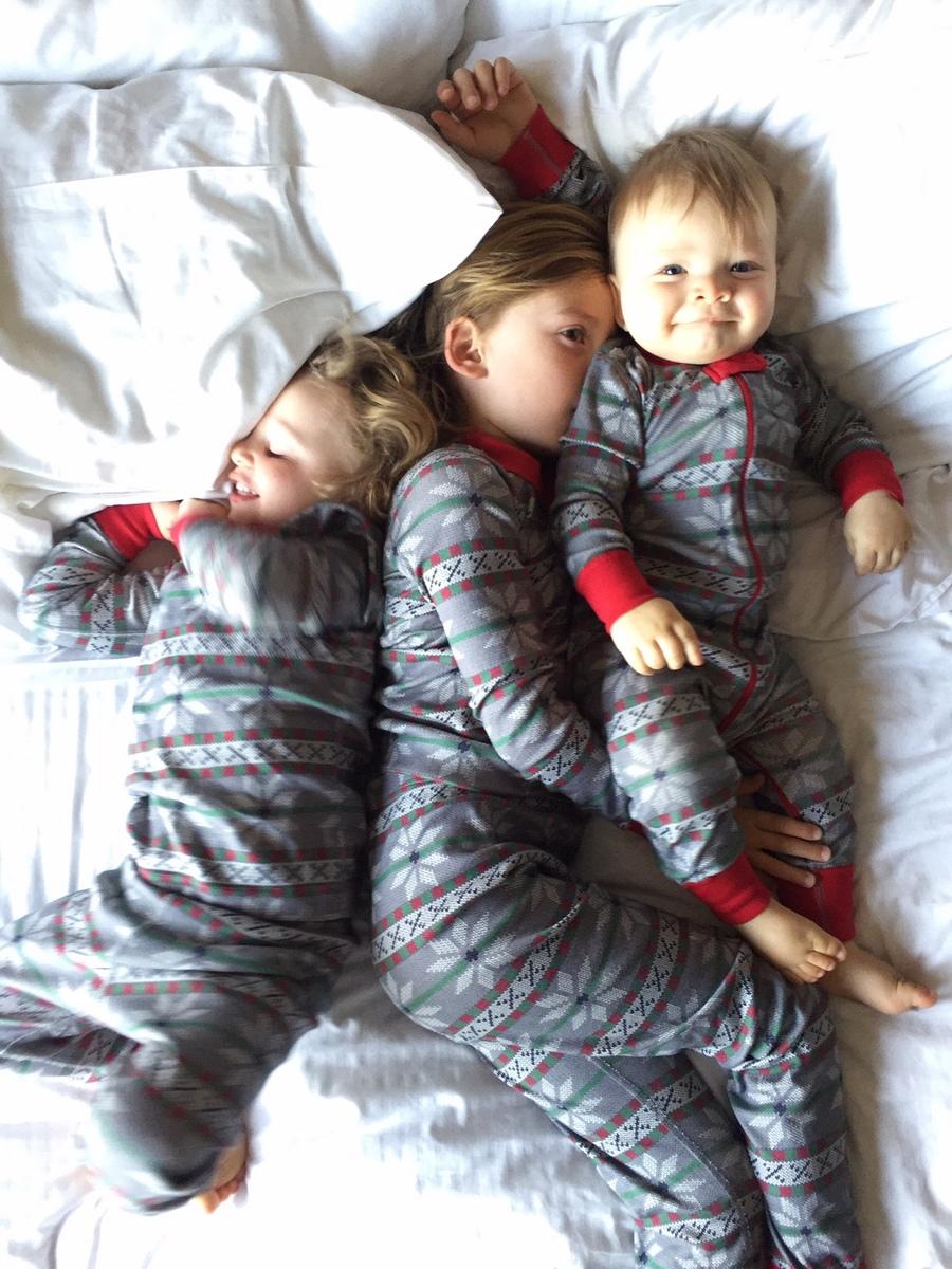 Matching Christmas Pajamas Family Holiday Traditions